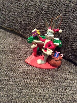 Bugs Bunny Looney Tunes Christmas Ornament 1989