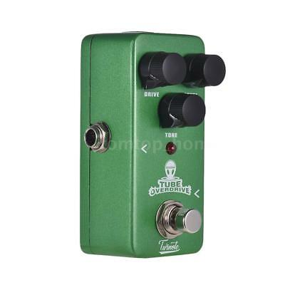 Twinote TUBE OVERDRIVE Mini Analog Overdrive Guitar Effect Pedal Processsor D9V1