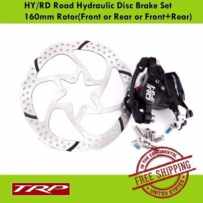 TRP HY/RD Road Hydraulic Disc Brake Set 160mm Rotor(Front or Rear or Front+Rear)