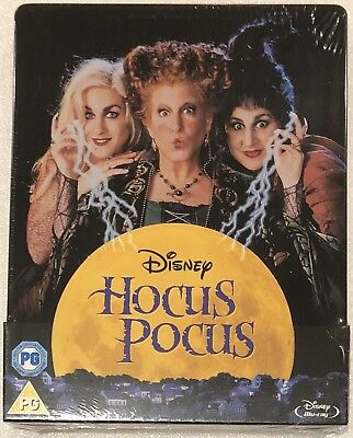 Hocus Pocus Steelbook - UK Exclusive Limited Edition Blu-Ray **Region Free**