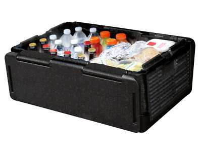 CHILL CHEST lightweight foldable cooler keeps food drink cold/hot foodfor hours