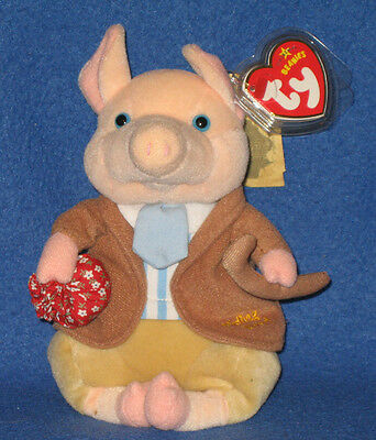 TY PIGLING BLAND GOLD THREAD BEANIE BABY - MINT with MINT TAGS - UK  EXCLUSIVE a9c902f44bb9