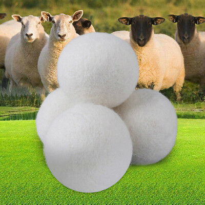 Natural Wool Home Dryer Ball Laundry Drying Ball Washing Machine Free Shipping T