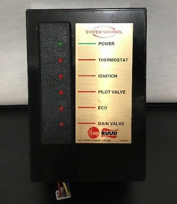 RHEEM AM38875 Panel System Sentinel Water Heater Commercial Diagnostic Device