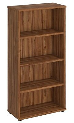 NOVA Aspire Low 1600mm Bookcase, WALNUT