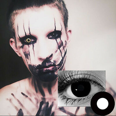 1Pair Halloween Cosplay Big Unisex Coloured Contact Lenses Eyes Makeup Con Lindo