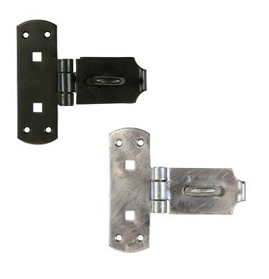 Heavy Duty Vertical Hasp and Staple Gate Shed Padlock Security Lock BRASS PINS