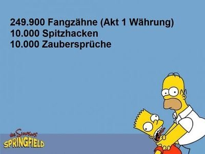Die Simpsons:Springfield Tapped Out Spiele App Donuts -  Halloween THOH - Akt 1