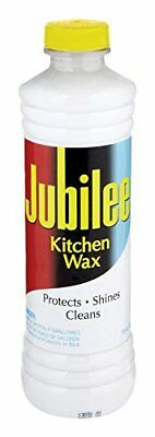 Jubilee Kitchen Cleaning Wax - For Appliances, Surfaces  Bathroom 15 oz (Pack of