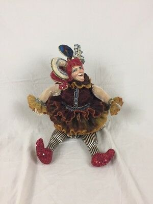 Wayne Klerk Katherines Collection Christmas Joker Jester Decoration Vintage