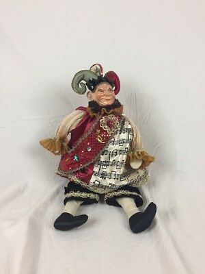 Katherine's Collection Wayne Kleski Christmas Joker Jester Decorations Vintage