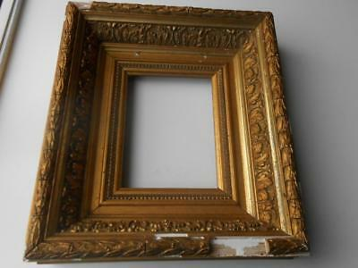 Super Antique Deep Georgian Victorian Decorative Gesso Picture Painting Frame
