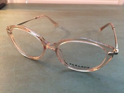 7eaf6be2a5 New Aspex Paradox Glasses P5052 51 17-140 Transparent Pink Eyeglass Frames
