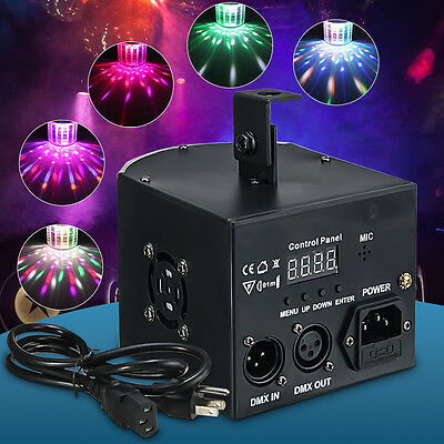 DJ Stage Club Disco Lighting Dance Party Show Efecto de luz LED RGB DMX512 18W