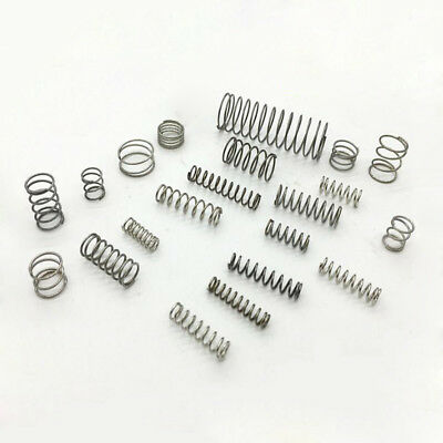 10x Compression Spring Stainless Springs 3mm 4mm 5mm 6mm OD 5mm to 50mm Length