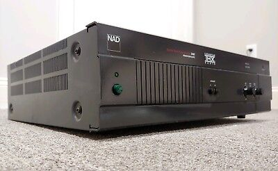 NAD MONITOR SERIES POWER AMP 2400 THX Amplifier - $130 00