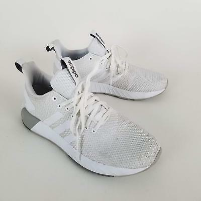 buy online 3a518 f3ccf Adidas Men s Questar BYD Running Shoe White Grey Two 8.5 M US  3612