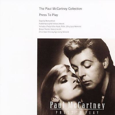 Press to Play [Remastered] by Paul McCartney  CD in JEWEL CASE