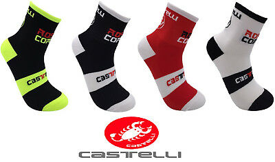 Calcetines ciclismo CASTELLI ROSSO CORSA, socks cycling