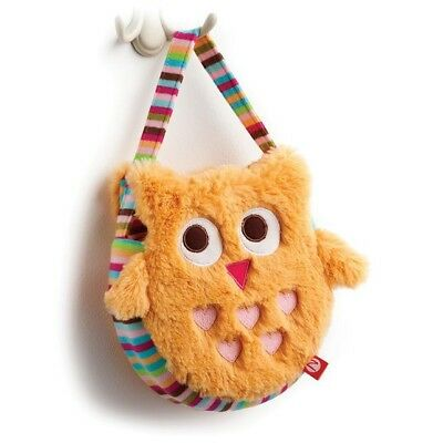 Zutano By Nat & Jules Adorable Cozy Owl Purse New With Tags