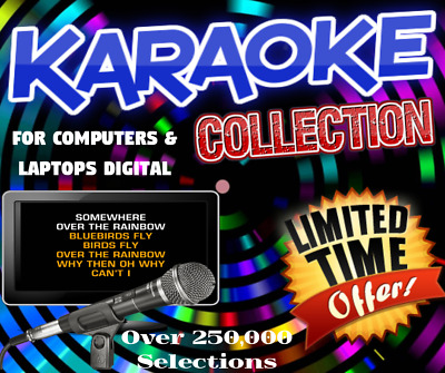 Karaoke Collection - Complete System Setup - CD+G Hard Drive with license