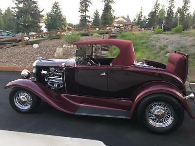 1930 Ford Model A Streetrod Roadster Convertible 1930 Ford Model A Roadster Streetrod Hotrod Custom.  One of a Kind.