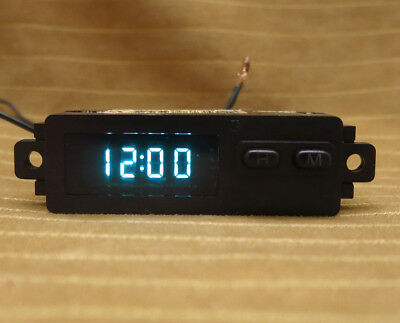 Crown Victoria Grand Marquis Town Car Taurus Sable Dash Clock 93-03 OEM Blue