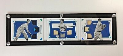 National Treasures Tri Fold Horizontal Booklet Case ( Legendary Trios, Lineups )