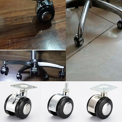 Universal Furniture Cabinet Office Chair Trolley Rotation Swivel Caster Wheel