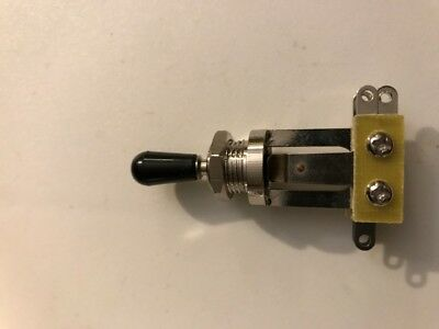 Guitar 3 Way Selector Toggle Pickup Switch  Les Paul Gibson  - ships from Canada