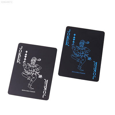 1CED Plastic Waterproof Poker Card Set Home Party Travel Board Game Magic Props