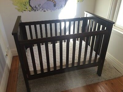 Boori Country Cot & Change Table Matching Set