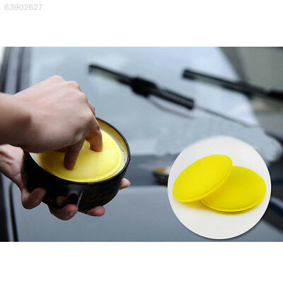 7C5B 12pcs Car Vehicle Waxing Polish Foam Sponge Washing Pads Automotive Care Ye
