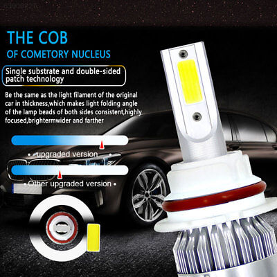 F135 Super Bright Front Lamp 9004/HB1 72W for LED Headlight Lighting Assembly