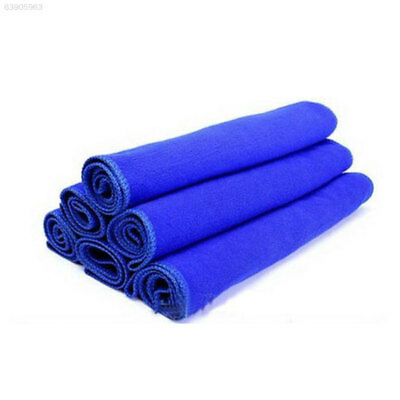 45B5 Soft Cleaning Towels 5PCS Microfiber for Car Wash Cloth Carcare