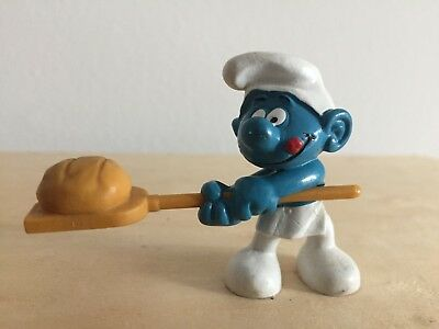 PUFFO smurf schlumpf pitufo 20113 BAKER PANETTIERE Peyo Bully W. Germany
