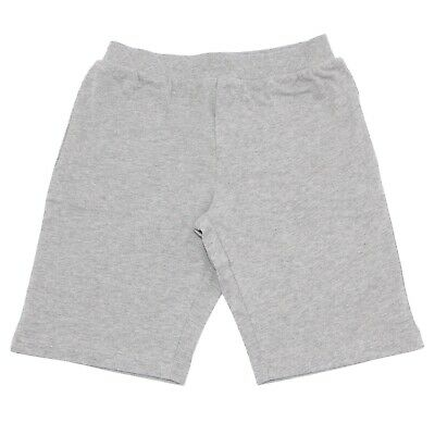 9766V bermuda jersey bimbo ARMANI JUNIOR grey cotton short kid