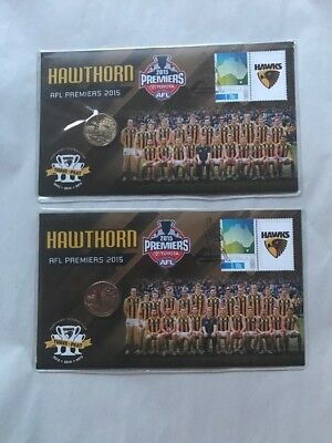 2015 AFL PNC Hawthorn  Premiers - Price Is For 2 Consecutive Numbered