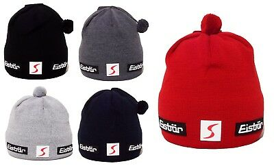 NEW- EISBAR ADAM MU SP Merino Wool Winter Sport Ski Bobble Hat
