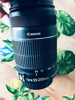 Canon  EF-S LENS AF Obiettivo Zoom 55/250mm f4-5,6 IS II IMAGE STABILIZER