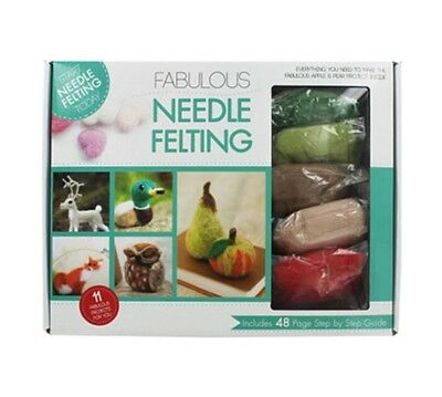 Needle Felting Box DIY Craft Kit