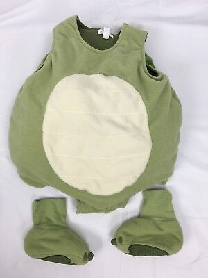 Children's Place 18-24m Green Turtle Halloween Costume Baby Toddler Girl Boy