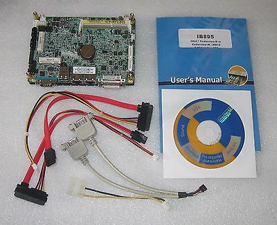 "All-In-One  Board 3.5"" IB895 Atom N2600 4x1.6GHz, 2GB RAM, DVI G-LAN mini PCIe"