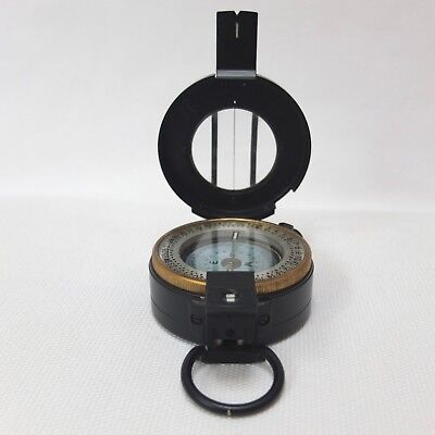 Francis Barker M-72 Prismatic Marching Compass Rare Nato Uk Military Army M72