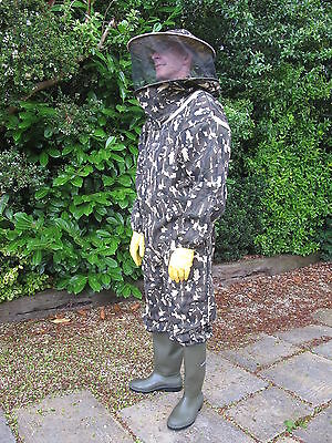 HEAVY DUTY Bee Suit Round Hat - Camo, LAST FEW!
