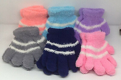 Toddler Fuzzy Magic Gloves, Smaller Gloves For Your Little Ones,  Great Colors