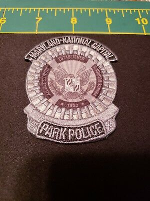 Maryland Police Patch Park Mncpp National Capital Md Dnr Natural Resource K9