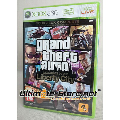 Jeu XBOX 360 - GRAND THEFT AUTO EPISODES FROM LIBERTY CITY - GTA - Neuf Blister