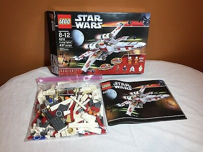 Lego Star Wars X Wing Fighter 6212 Includes Instructions And