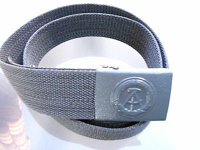 ACHTUNG!!  E. German Army Combat Belt w/ Buckle - Genuine (DDR-NVA) BEST PRICE